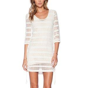 Spell Byron Bay Fringe Back Mini Dress